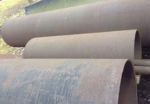 "Steel Pipe 30"" round 11' Long"