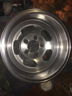 Pair of vintage 14x9 US MAGS unilug wheels for Sale in New Albany, MS