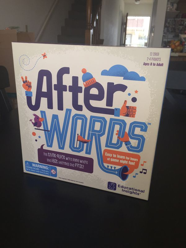 NEW EDUCATIONAL INSIGHTS AFTER WORDS VOCABULARY GAME