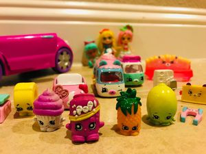 Shopkins $30 pick up 75051 toys juguetes for Sale in Grand Prairie, TX