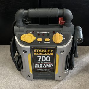 Stanley Fatmax Jumpit 700A Jump Starter With Air Compressor - In Box (For Repair) for Sale in NJ, US