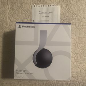 PlayStation 5 PULSE 3D Wireless Gaming Headset for Sale in Melrose Park, IL