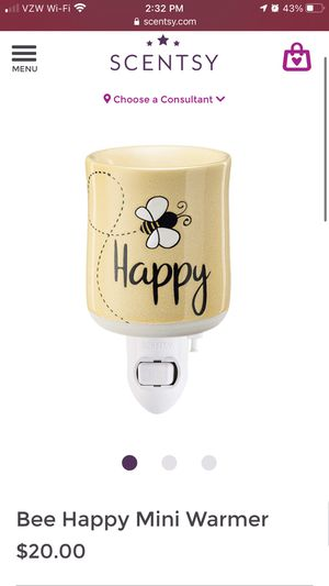 Scentsy - Bee Happy Mini Warmer for Sale in Long Beach, CA