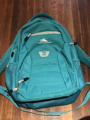 High Sierra backpack book back school for Sale in Santa Ana, CA