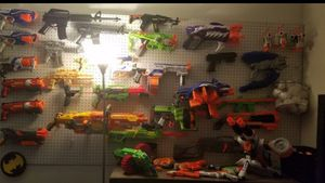 Nerf guns, laser play guns and nerf bullets for Sale in Port St. Lucie, FL