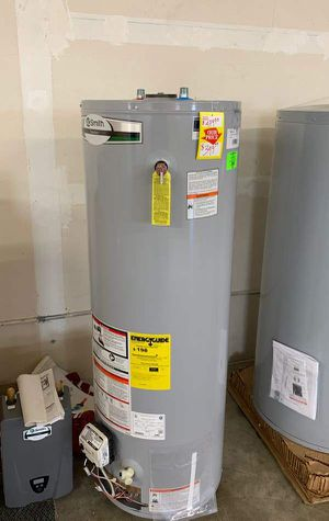 NEW AO SMITH WATER HEATER WITH WARRANTY 40 gallon LJIV for Sale in Fort Worth, TX