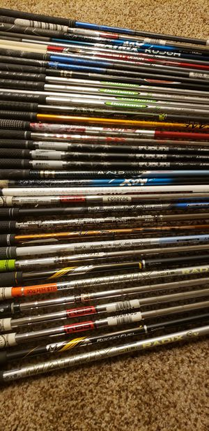 Many different golf club shafts.ALL ARE NEW. for Sale in Winter Park, FL