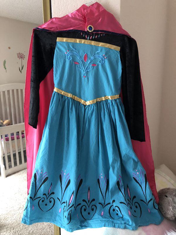 Elsa coronation dress size L