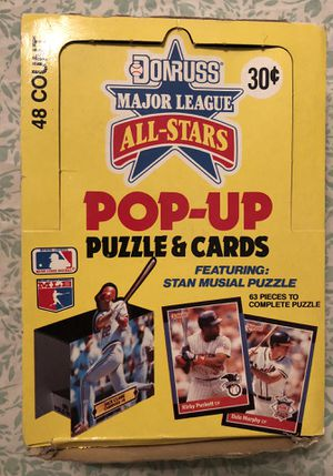 Donruss Major League All-Star Pop-Up Baseball Card Box for Sale in Spring Hill, FL