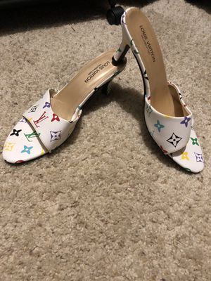 Louis Vuitton NEW high heel mules size 8-8.5 for Sale in Milwaukee, WI