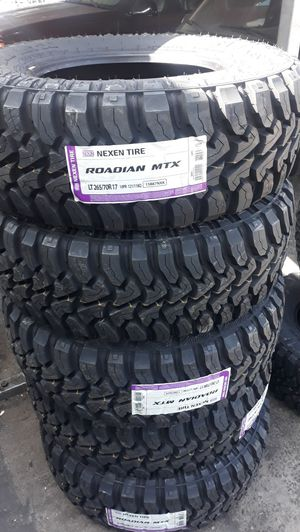 4 new tires & wheels 17 inch$1250 for Sale in Chino, CA