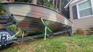 14ft Mirrocraft aluminum fishing boat for Sale in Portland, OR
