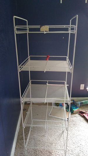 White metal shelf for Sale in Houston, TX