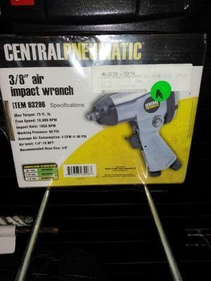 3/8 air impact wrench New in box for Sale in Miami, FL