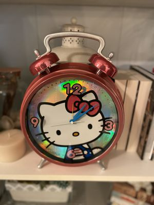 Hello Kitty Clock - perfect for girls for Sale in Deerfield Beach, FL