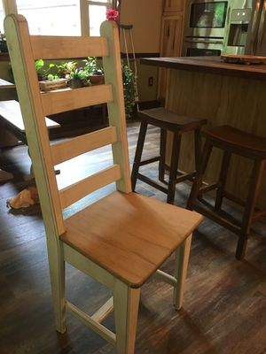 Farmhouse table with bench & 4 chairs for Sale in Hurricane, WV