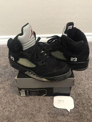 Jordan Metallic 5s (2007) Size 8 for Sale in Las Vegas, NV