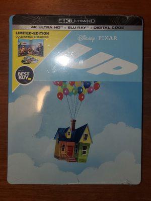 Disney Pixar UP steelbook 4K movie for Sale in Los Angeles, CA