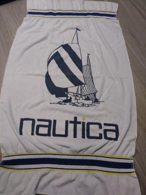 Nautica Vintage Beach Towel Regatta Sailboat for Sale in Phoenix, AZ
