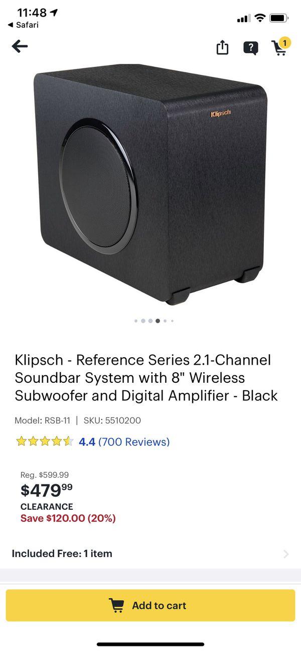 Klipsch RSB 11 soundbar