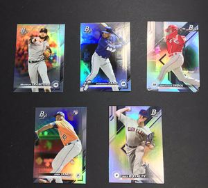 2019 TOPPS Bowman Platinum Baseball Cards for Sale in El Paso, TX