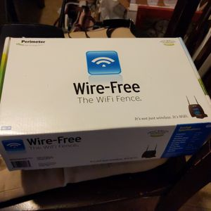 Perimeter Wire-Free The WiFi Fence for Sale in Neenah, WI