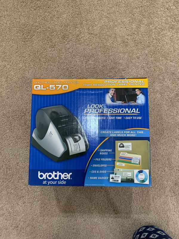 Brother QL-570 Professional High Resolution Label Printer