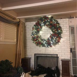 Christmas wreath for Sale in Hayward, CA
