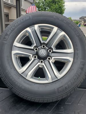 Tires P265/60 R16 Rims Toyota for Sale in Denver, CO
