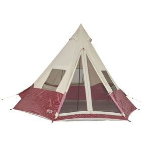 5 Person Family Teepee Tent Outdoor Camping Hiking Canopy Shade Shelter Camper Travel Adventure. for Sale in Toledo, OH