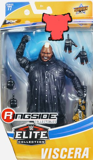 New WWE Elite Collection Viscera Action Figure. for Sale in Apopka, FL