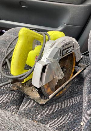 Ryobi circular saw for Sale in Everett, WA
