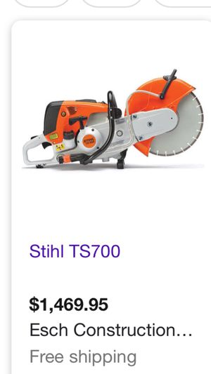 Sthil TS700 concret saw for Sale in Tracy, CA