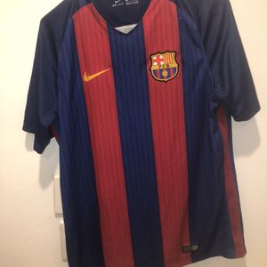 Barcelona 2016 Soccer Futbol Jersey Nike Size Large Authentic for Sale in Miami, FL