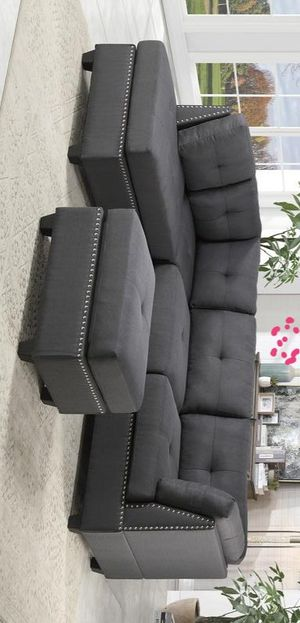 [SPECIAL] Dasha Dark Gray Sectional for Sale in Houston, TX