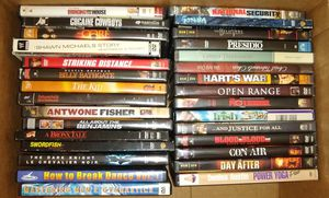 DVD LOT 30 AS IS. Dark Knight, SwordFish, Bronx Tale, Con Air, The Kid. Condition is AS IS for Sale in Queens, NY