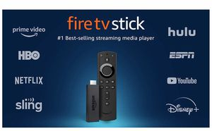 Fire TV Stick streaming media player with Alexa built in, includes Alexa Voice Remote, HD, easy set-up, released 2019 for Sale in North Lauderdale, FL