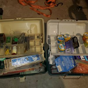Fishing Tackle And Tackle Box for Sale in Bonney Lake, WA
