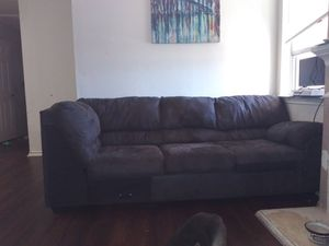 2pc Grey Sectional for Sale in Fort Worth, TX