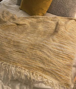 Soft multicolor throw blanket for Sale in San Francisco, CA