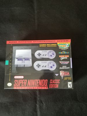 Super Nintendo Clasic for Sale in Los Angeles, CA