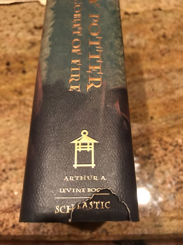 1st Edition Harry Potter & the Goblet of Fire