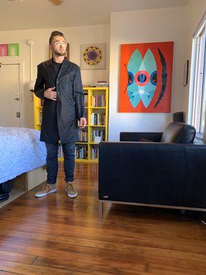 ISSEY MIYAKE MEN Genuine Trenchcoat Medium for Sale in Los Angeles, CA