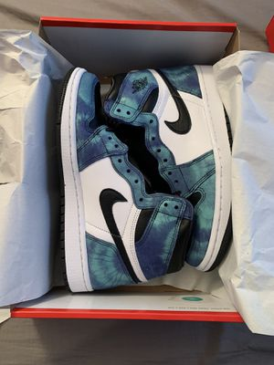 Air Jordan 1 retro (tie die) woman size 8 for Sale in Santa Ana, CA