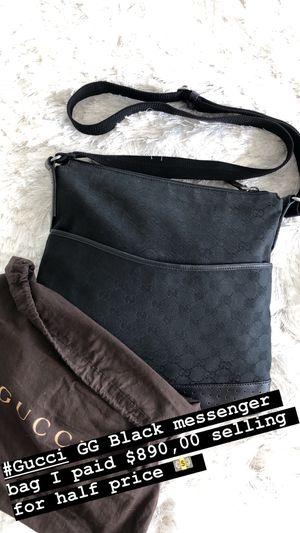 Gucci GG Black messenger bag for Sale in Miami, FL