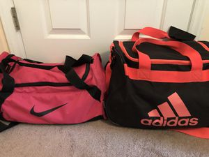 Nike and Adidas duffle bag for Sale in Raleigh, NC