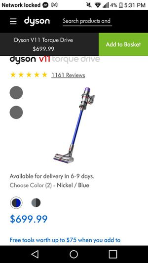 Dyson 11v Torque Drive for Sale in Meridian, MS