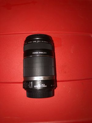 Canon EF-S 55-250mm f/4.0-5.6 IS II Telephoto Zoom Lens for Sale in Huntington Station, NY