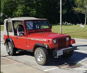 93 Jeep Wrangler for Sale in Stockbridge, GA