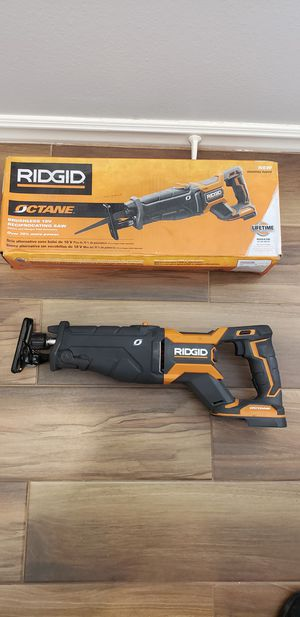 Ridgid octane sawzall (tool only) for Sale in San Diego, CA